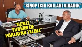 Ayhan Ergün Gerze'ye geldi