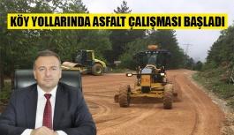 Köy yolları iyileştiriliyor