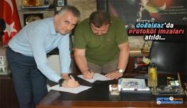 Doğalgaz protokolü imzalandı