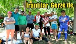İran'dan bisikletle Gerze'ye geldiler