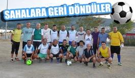 Veteran Futbol Takımı top başı yaptı