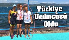 Gerze'den Türkiye Üçüncülüğü