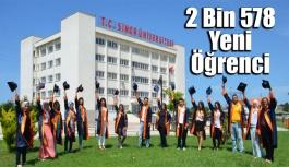 2 Bin 578 yeni öğrenci Sinop Üniversitesini tercih etti