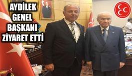 Aydilek'ten Ankara'ya çıkarma