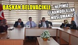 Başkandan cami yeri için talepte bulundular