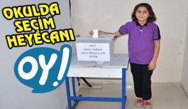 Haşim ve Zehra Tarı Ortaokulunda demokrasi şöleni