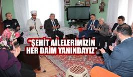 Vali Şakalar, Dikmen'de Şehit Ailesini Ziyaret etti