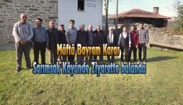 Müftü Bayram Karar, Köy Ziyaretlerinde bulundu