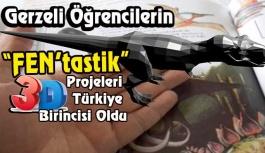 """""""FEN'tastik"""" Projeler Türkiye Birinciliği Getirdi"""