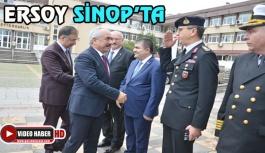 Bakan yardımcımız Ersoy, Sinop'ta
