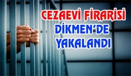 Cezaevi Firarisi Dikmen'de Yakalandı