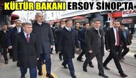 Kültür Bakanı Sinop'ta