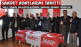 Saadet'in adayı Mehmet Ali Yavuz