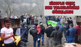 Sinoplu Genç İşçi Dualarla Uğurlandı