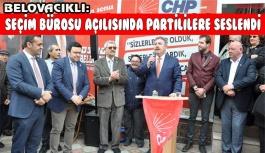 CHP Seçim irtibat bürosu açıldı