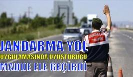 Gerze İlçe Jandarma Ekipleri Uyuşturucu...