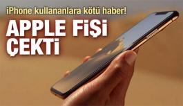 iPhone sahiplerine çok kötü haber