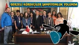 Gerzeli Kürekçiler Türkiye Şampiyonası Yolunda