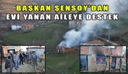 Köyde Yangın, Bir Ev Kül Oldu…