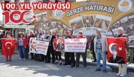 Gerze'den Samsun'a ATA'ya Saygı Yürüyüşü