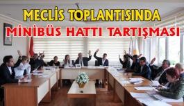 Meclis Toplantısında Hararetli Gündem