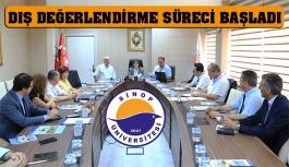 Yüksek Kalite Kurulu Takımı Sinop'ta