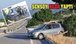 Başkan Şensoy Kaza Geçirdi