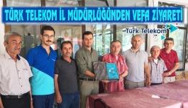 Türk Telekom'dan Vefa Ziyareti
