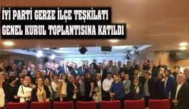 İyi Parti Gerze İlçe Teşkilatı Genel Merkezde