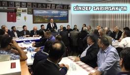 SİNDEF'TEN ZİYARET