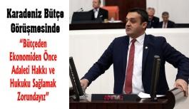 Karadeniz'in Bütçe Konuşması