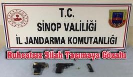 Ruhsatsız Silah Taşımaya Gözaltı