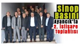 Sinop Basını 2. İstişare Toplantısı Gerçekleşti