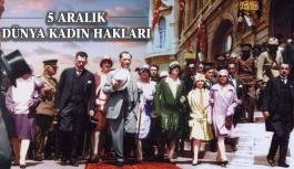 Türk Kadını En Demokratik Hakkını Kazandı