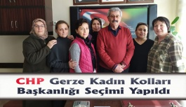 CHP Gerze Kadın Kolları Başkanlık Seçimi Yapıldı