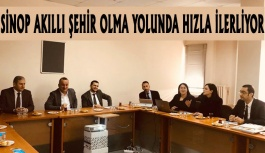 Sinop Akıllı Şehir Olma Yolunda