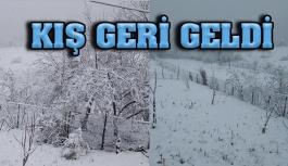 Gerze'ye Kış Geri Geldi