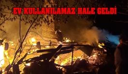 Çakallı Köyü'nde Yangın