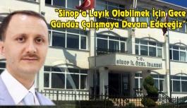 Sinop Genelinde Şimdiye Kadar 100 Km'lik Yol Asfaltlandı