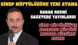 Sinop İl Müftülüğü'ne Yeni Atama