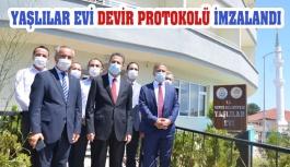 Vali Karaömeroğlu Gerze'de