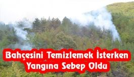 Tangal Mevkiinde Orman Yangını