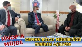 Sinop Orman Bölge Müdürlüğü Yeniden...