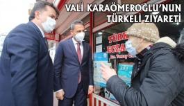 Vali Karaömeroğlu'nun Türkeli Ziyareti