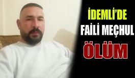 İdemli'de Şüpheli ölüm