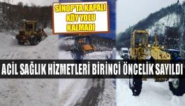 Kapalı Köy Yolu Kalmadı