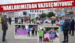 """""""İstanbul Sözleşmesi Bizimdir, Vazgeçmeyeceğiz!"""""""