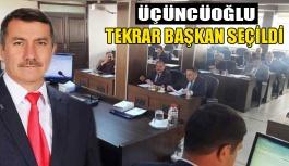 Meclis, Üçüncüoğlu'nu tekrar başkan...