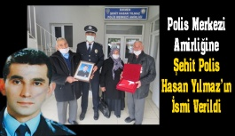 Şehit polis memurunun ismi, polis merkezinde...