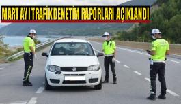 Sinop'ta Mart ayı trafik denetimleri